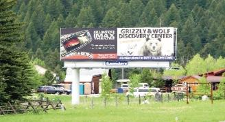 It's the only billboard you'll see travelling the Gallatin Canyon, and it's the source of years of contention. The Saunders Outdoor Advertising billboard was erected in 2009 and is currently the subject of a lawsuit between the owner and Gallatin County.