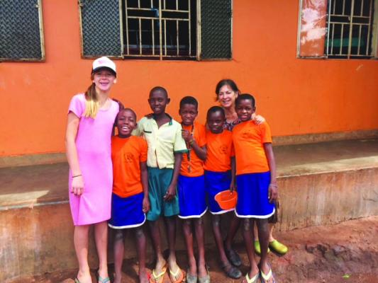 When Kassidy Boersma travelled to Uganda last October, she encountered kids wearing Ophir Miner gear.