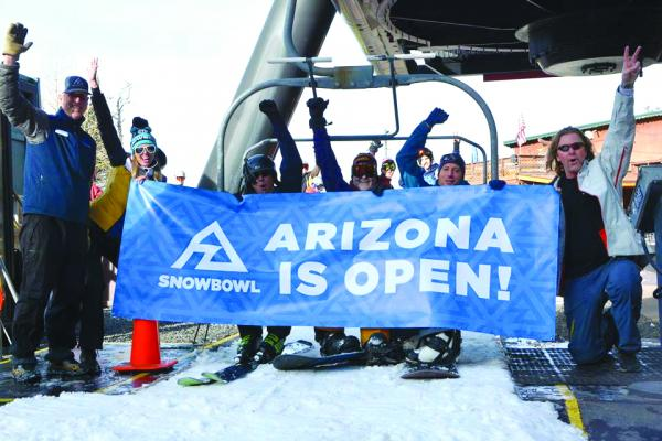 Arizona Snowbowl depends on recycled water.