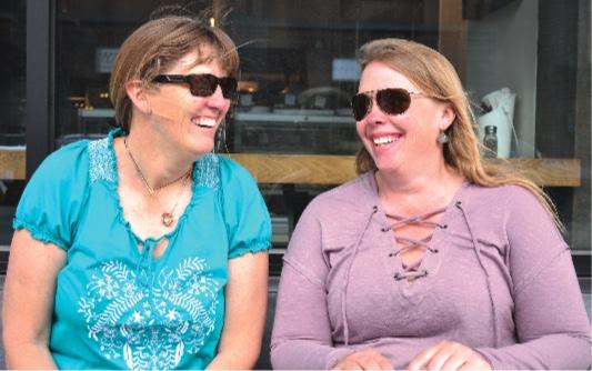 Denise Wade and Andrea Saari—the guides behind the newly launched Big Sky Adventures & Tours.