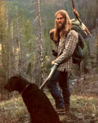 "Tim ""Bo Tim"" Pattison pictured in his early days of hunting in the Big Sky area. PHOTO COURTESY LANCE THOMAS"