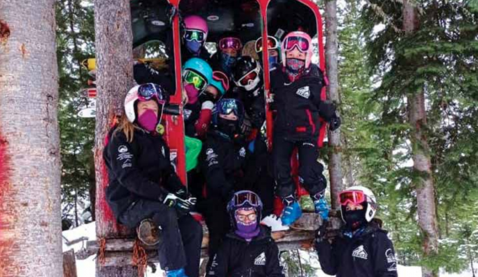 Big Sky Ski Education Foundation offers competitive Alpine, Freeride and Nordic skiing programs to kids. PHOTO COURTESY OF BSSEF