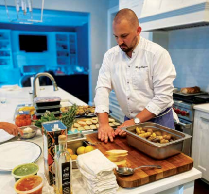 Dillavou has worked in New York City restaurants Charlie Bird, Marea and Maysville, and opened a restaurant with friends in New Orleans before switching to Family Meal in 2020. PHOTO COURTESY OF PHILLIP DILLAVOU