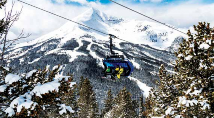 Just before the onset of the coronavirus pandemic, Big Sky Resort purchased RECs to retroactively compensate for energy used to operate its 38 ski lifts. PHOTO COURTESY JON RESNICK
