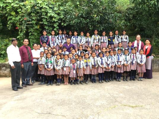 Big Sky locals help sponsor the education of nearly 200 children in Nepal.