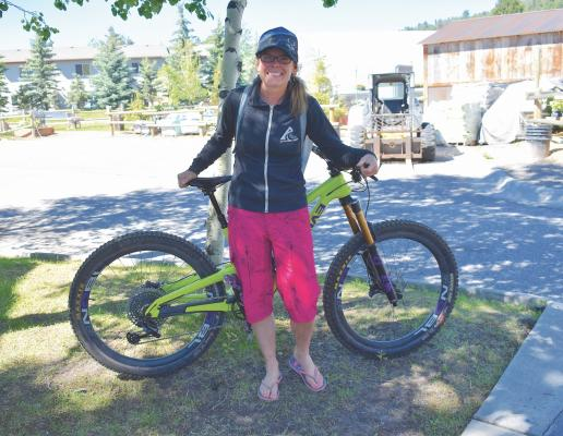 Big Sky Biggie organizer Natalie Osborne saw the need for a cross-country bike race in Big Sky and Southwest Montana, so she decided to create one. She hopes the Big Sky Biggie will become a flagship annual event, bringing in racers from around the country.