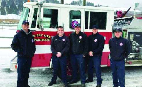 Captain Mitch Hamel and Firefighters John Foster, Mike Ketschek, Dave Parker and Seth Nowlin left Big Sky Sunday morning,  arriving in California late that evening to assist with the fires there.  They will be part of three Montana strike teams,  deployed for a little over two weeks.