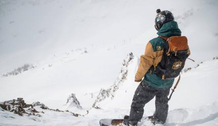 """Lenay didn't start snowboarding until 2007, but has taken the snowboard bull by the horns since then. """"Follow your passion. Don't let anybody ever tell you that you can't do it. If they do, just use that as motivation to make it happen,"""" he said."""