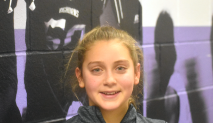 It was an intense battle: steals, blocks, man-to-man coverage and many fouls on both sides on January 4 when the Lady Big Horns took on the Twin Bridges Falcons. Freshman Carly Wilson expressed her excitement in winning the game. That 'W' was thanks in part to Wilson's superior shooting skills.