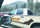 Sometimes local law enforcement gets surrounded by iPhone attention, and other times they're all alone with no connection to dispatch in Bozeman.