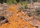 Backers of I-186 use photos like these to show what happens when mining companies don't protect nearby streams. Those opposed to I-186 argue these photos are old news and that the mining industry has greatly improved environmental protections.