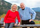 Roger Schwer and Marjie Toepffer – it may not have been true love at first sight per se, but the couple's lives bound them together. Now, they celebrate a successful marriage and take pride in their contributions to the Big Sky community.