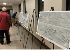 More than 25 attendees to the Jan. 9 TIGER grant open house held in the upstairs meeting room at Big Sky Medical Center received a wealth of information about changes coming to Big Sky via the MT 64/Lone Mountain Trail upgrade. PHOTO BY JANA BOUNDS