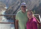 Big Sky Fire Department Chief William Farhat and his wife Mindy Cummings enjoy a day trip to the Grand Canyon of the Yellowstone this past summer. PHOTO COURTESY WILLIAM FARHAT