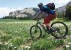 """Paul """"Packy"""" Cronin enjoys riding his mountain bike in the Lionshead area and is passionate about mountain bike access to public lands. PHOTO COURTESY PACKY CRONIN"""