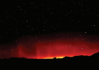 On the night of Oct. 24 and the morning of the Oct. 25 the Auroras showed up at the Cottontail Observatory in Twin Bridges, Montana. The photograph was taken by at about 2 a.m. on tbe 25th. Spaceweather.com had predicted their appearance the night of the Oct. 24. PHOTO COURTESY JOE WITHERSPOON