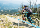A look at one of the drop-ins on the treacherous course at Big Sky Resort. PHOTO COURTESY BIG MOUNTAIN ENDURO